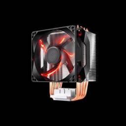 Cooler Para Processador Cooler Master Hyper H410R Led Red