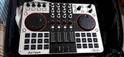 Controladora DJ Tech Mix 4 Pistas