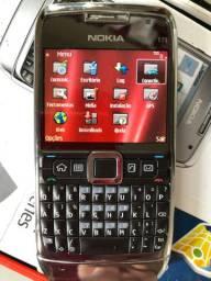 Relíquia Nokia E1 3G Anatel GPS Teclado Qwerty em até 3x sem juros!