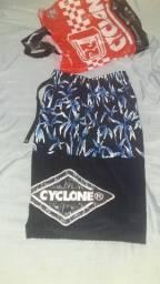 Promoção bermuda cyclone semi-nova leia a descrição