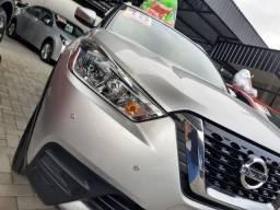 Nissan Kicks 1.6 16V Flex S 4P Xtronic Prata