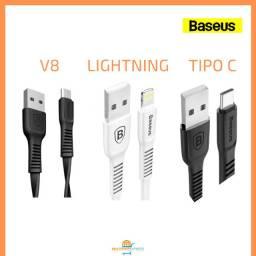 Cabo Carga e Dados Baseus Lightning V8 Tipo C
