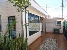 Casa com 3 dormitórios para alugar, 121 m² por R$ 1.400,00/mês - Campos Elíseos - Ribeirão