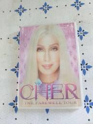 Vendo DVDs originais  Cher  Tina Turner   Madona
