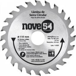 Lâmina de serra circular 110 mm x 20 mm, 24D, NOVE54 46.68.111.224