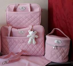 Kit bolsa maternidade luxo