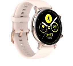 Smartwatch SG3 Active Rosê Tela Amoled Notificação Whatsapp Esportes Completo