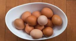 Ovos caipiras galados por encomenda