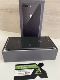 iPhone 8 plus - preto - zeradinho semi novo