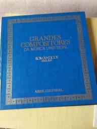 Coleção Abril box Grandes compositores da Música Universal