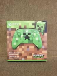 Controle Xbox One Original Especial Minecraft