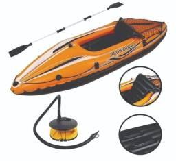 Caiaque Inflável Sport - usado apenas 1 x