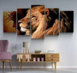 Quadro mosaico leão da tribo de Judá!!