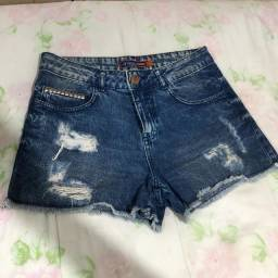 Short Jeans Clube Jeans