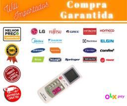 Entrega Grátis* - Controle Universal Ar Condicionado Komeco Midea York Fujitsu Consul