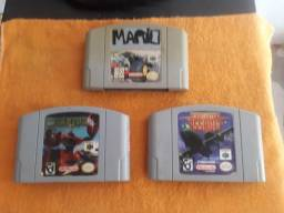 Vendo Lote de jogos originais de Nintendo 64!!!