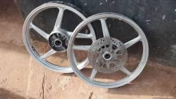 Vendo conjunto de rodas liga-leve original