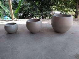 Vasos de concreto reforçados e impermeabilizados
