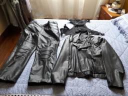 Conjunto de roupa para motociclista