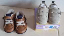 Calçados menino Pimpolho 17 novo e klin 18