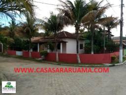 Casa 2qtos em condomínio na Praia do Gavião em Araruma