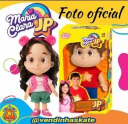 Pronta Entrega - Boneca Maria Clara e JP - Originais - @vendinhaskate