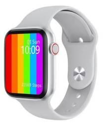Smartwatch W16 Relógio Inteligente 44mm - Branco