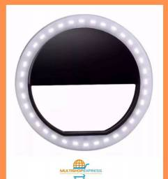 Iluminador Ring Light Selfie LED para Celular Tablet Notebook