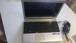 Notebook Samsung Rv 511 retirar peças