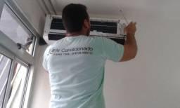 Limpeza e instalação de Ar condicionado .