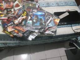 Dvd LG + 350 Filmes ou separado