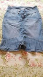 Saia Jeans número 36