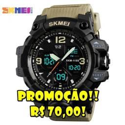 Relógio Militar Skmei Original a prova d'água - Importado