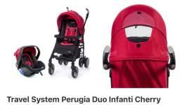 Vendo carrinho +bebê conforto perugia infanti 5 meses de uso