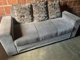 Sofá 3 lugares 1 cadeira