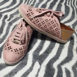 Tênis rosa Vizzano