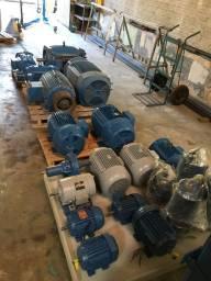 Motores elétricos/rebobinagem