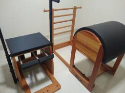 Aparelhos de Pilates Seminovos - Step Chair E Barrel