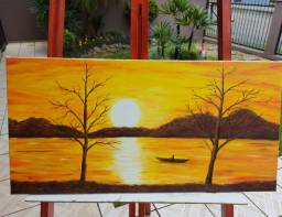 Quadro/ pintura em tela
