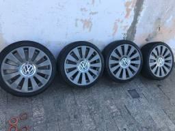 Rodas 17 pneus 195/40