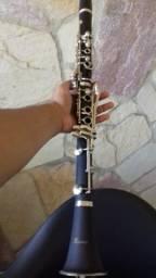 Clarinete Benson 17 Chaves Bb Si Bemol com Estojo