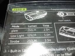 Lanternas busina recarregavel usb