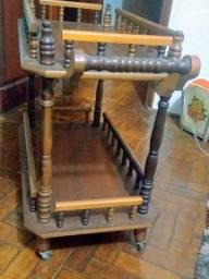 Carrinho de chá móveis antigos