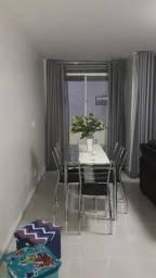 Apartamento todo no Porcelanato, locação na diária, Ponta Verde, 2 quartos