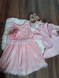 Lindo look rosa tamnho 3