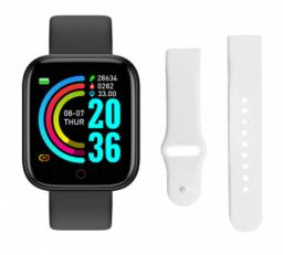 Relogio Inteligente Smartwatch D20 Bluetooth + pulseira branca entrega gratis em londrina