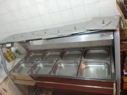 Buffet de saladas para restaurante
