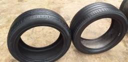 Pneus aro 18 235/45R18 semi novos Pirelli