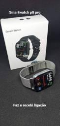 Smartwatch p8 pro faz e recebi ligações