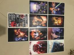 Posters Star Wars - impressão à laser